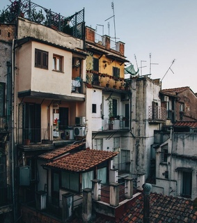 buildings, vintage and travel