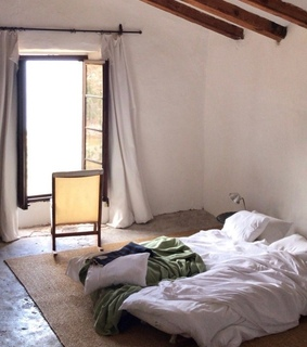 architecture, mediterranean and bedroom