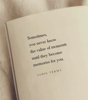 post, value of moments and quotes