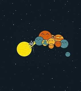 solar system, planets and photo