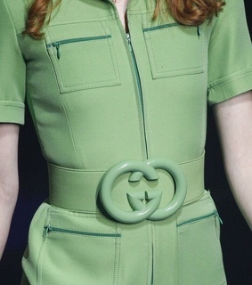 gucci, mint and moda