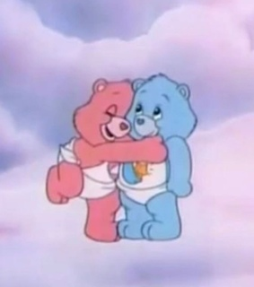 love, cartoon and care bears