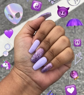 nails, inspo and coffin