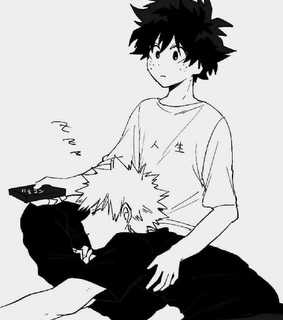 bakudeku, boku no hero academia and midoriya