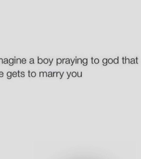marry, love and imagine