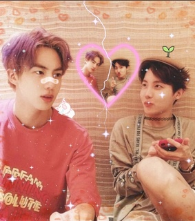 jin, bts edit and jhope