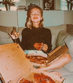 pizza, retro and 80's