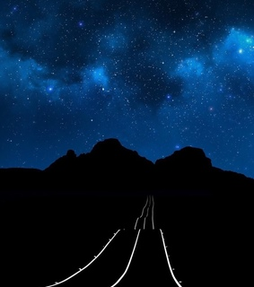 stars, Darkness and Road Trip