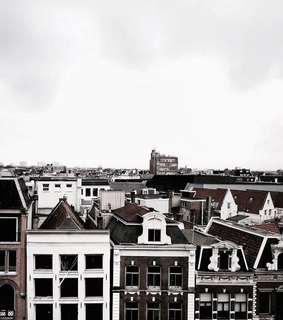 buildings, netherlands and amsterdam