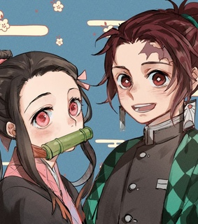 kimetsu no yaiba, anime and kamado nezuko