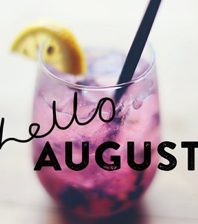 drink, hello august and cocktail
