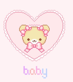 pastel, pink and pixels