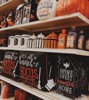 hocus pocus, halloween decor and fall