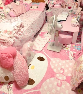 sanrio, cute and room