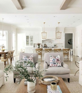decor, beige and house