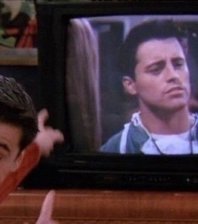 Joey, friends and tv