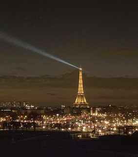 france, lights and fashion