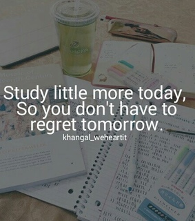 study, today and choice