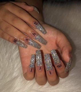 style, holographic and glitter
