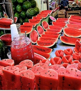 food, watermelon and pasteque
