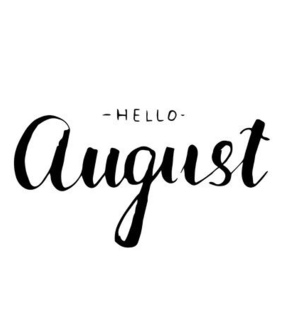 hello, summer and August
