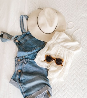 fashion, sunglasses and denim