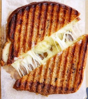 food, toastie and cheese