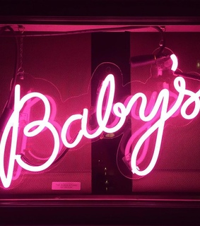 pink, baby and neon