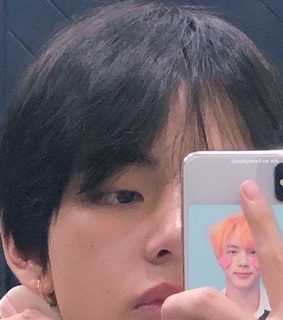 v, taehyung and icon