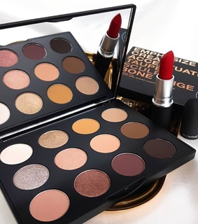 luxury, beauty and eyeshadow