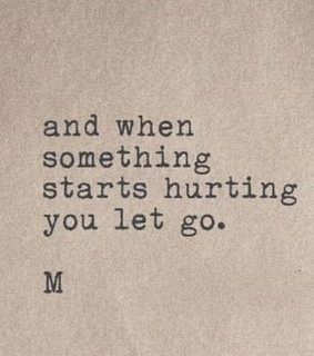 move on, let go and heartbreak