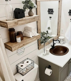bathroom, blog and fashionable