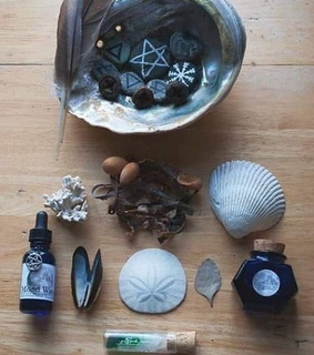 wicca, sea witch and sea magic