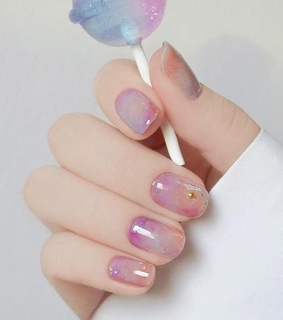 nails, candy and wow
