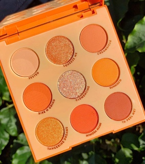 colourpop cosmetics, fashion and orange