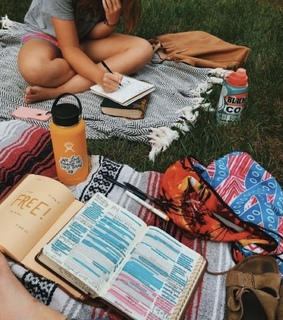 playlist, outside and vsco