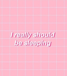 pink, sleep and quotes