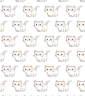 background, cat and pattern