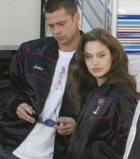Angelina Jolie, brad pitt and vintage