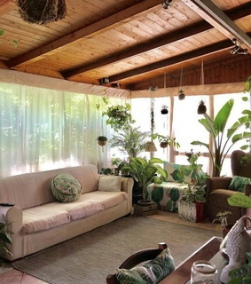 beautiful, nature and woody rooms