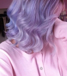 purple, aesthetic and short hair