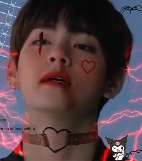 kim taehyung, cyber and png