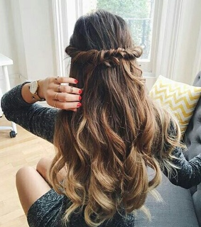 fashion, braids and hairstyles