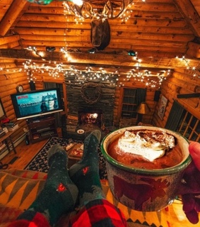 cosy, autumn and cabin