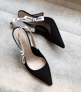 black, shoes and dior