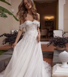 dress, wedding and gown