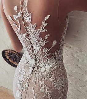 dress, bride and wedding gown