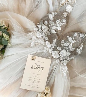 dress, bridal dress and wedding gown