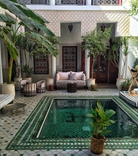 house, design and pool