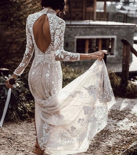 bridal dress, lace dress and bridal gown